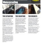 Commercial Foundation Waterproofing