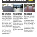 Waterproofing Decking