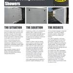 Waterproofing Outdoor Showers